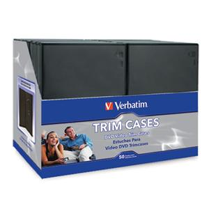 DVD Video Trimcases - Black 50pk