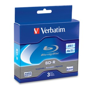 BD-R 25GB 4X 3pk Jewel Case