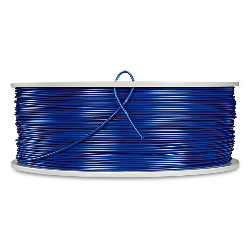 Verbatim, ABS 3D Filament 1.75mm, 550021kg Reel, Blue