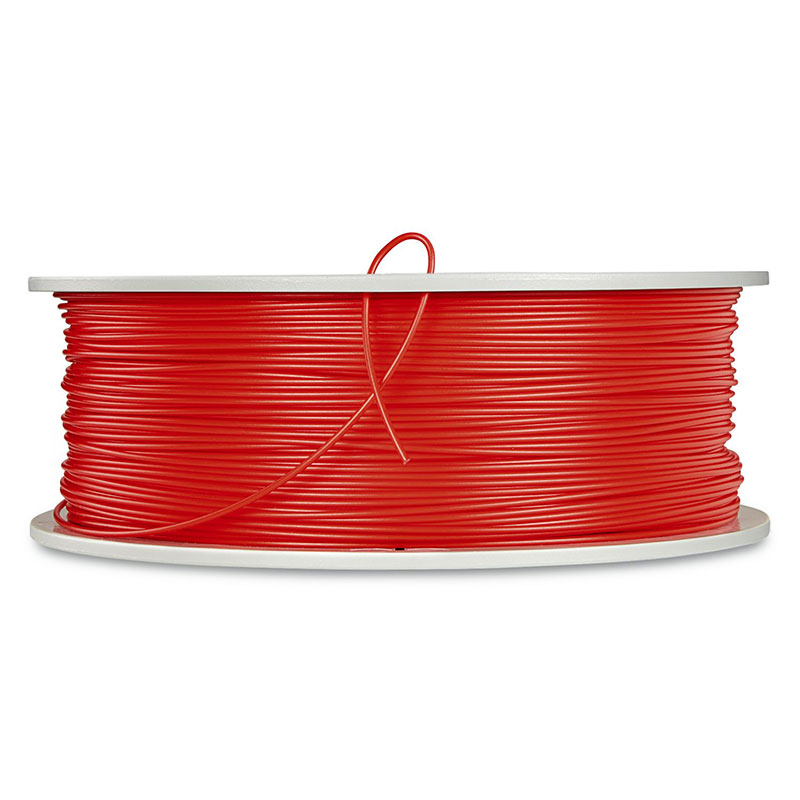 Verbatim, PLA 3D Filament 1.75mm, 552531kg Reel, Red