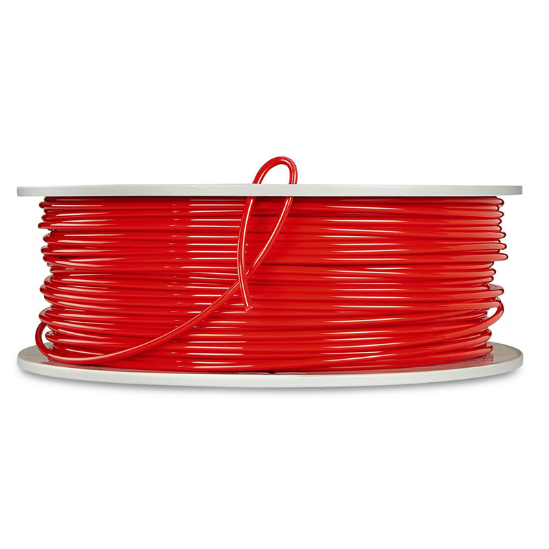 Verbatim, PLA 3D Filament 3mm, 552621kg Reel, Red