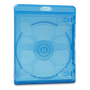Blu-Ray DVD Blue Cases - 30pkTAA Compliant