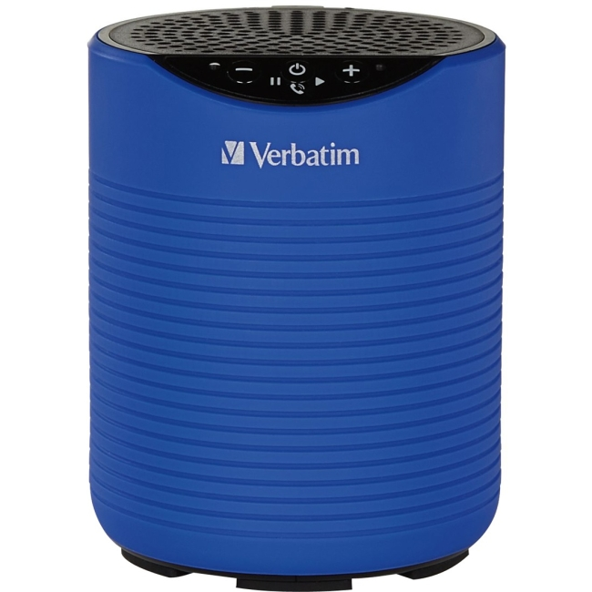 Verbatim Mini Wireless Waterproof,Bluetooth Speaker, Blue