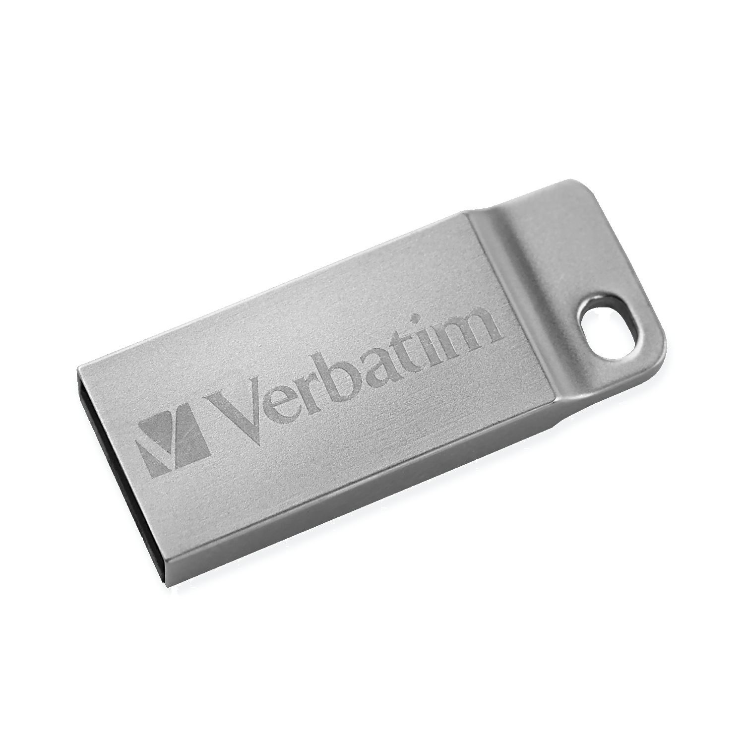 Verbatim Falsh Drive, Metal Executive USB,16GB, Silver