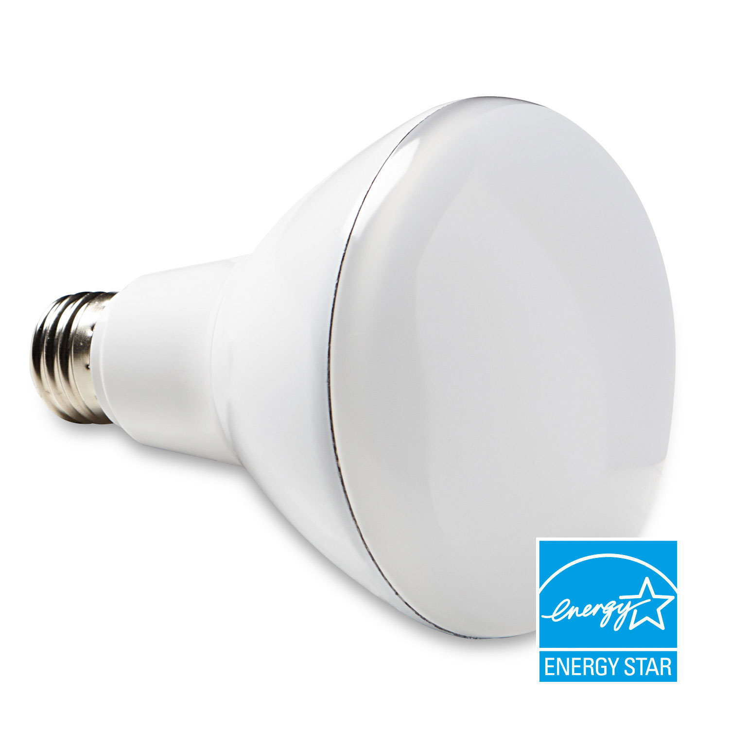 Verbatim, LED, BR30 Warm White, Dimmable, 989838W, 3000K, R30-L650-C30-R