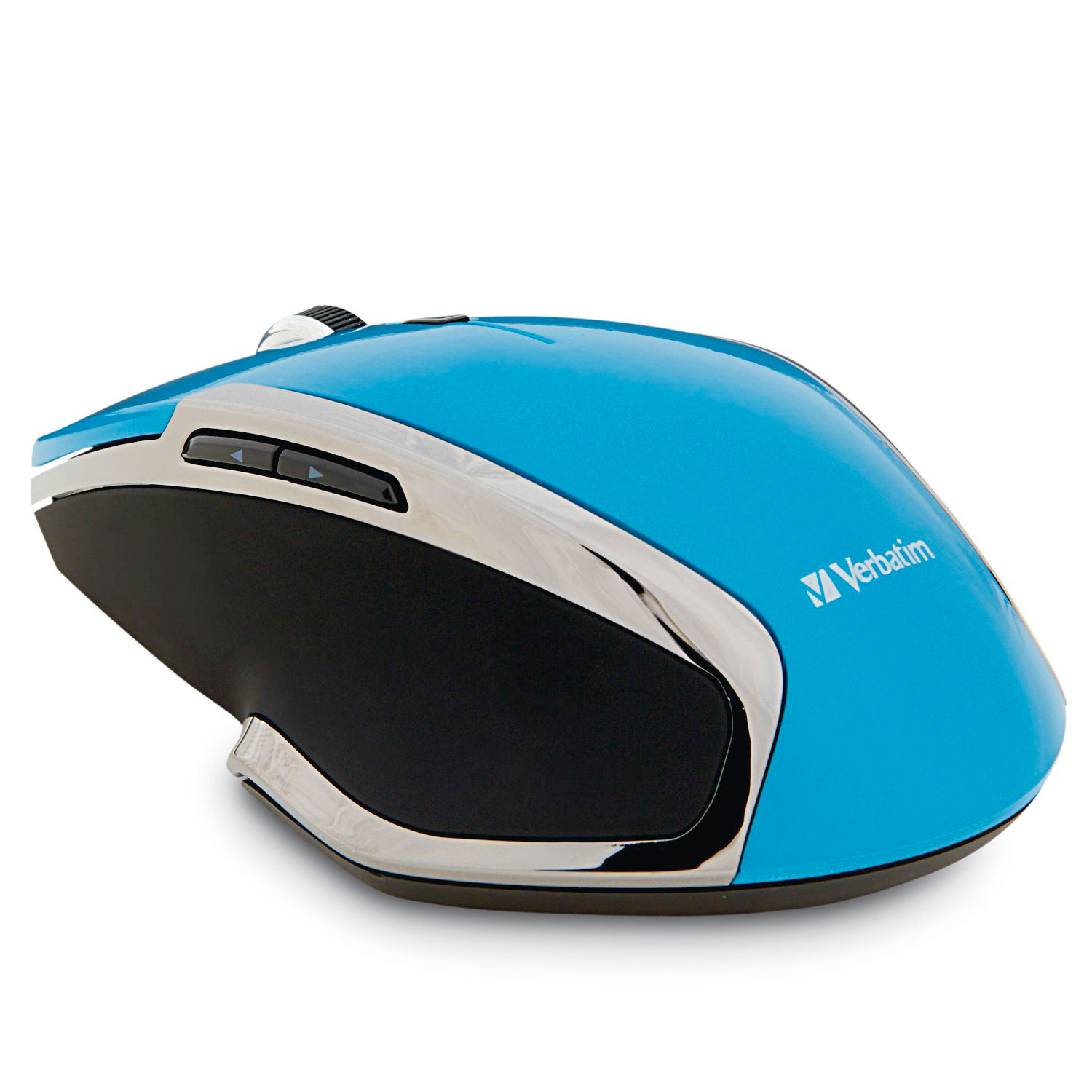 Verbatim Wireless Notebook 6-Button Deluxe LED Mouse, 99016, Blue