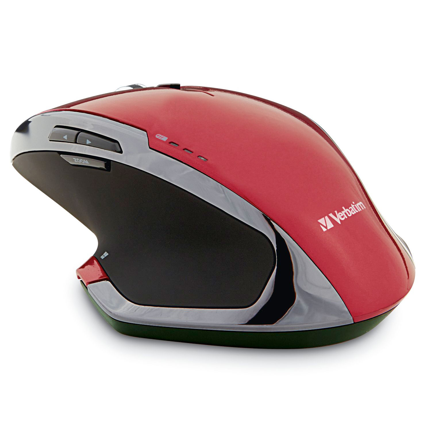 Verbatim Wireless Desktop 8-Button Deluxe Blue, LED Mouse, 99021, Red