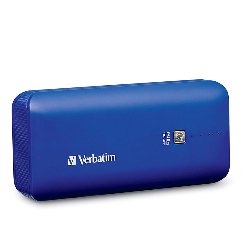 Verbatim Portable Power Pack, 99378, USB,4400mAh, Cobalt Blue