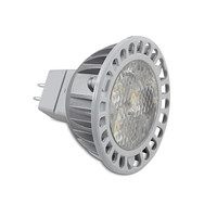 Lighting, LED MR16, GU5.3 2700K, 310lm 6 Watts 6 Watts